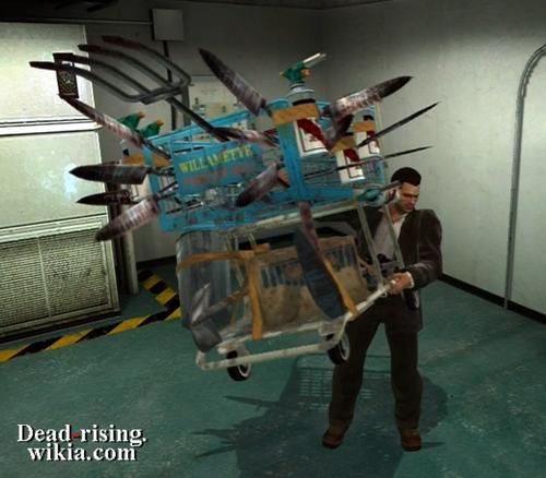 dead rising 3 weapon list - photo #13