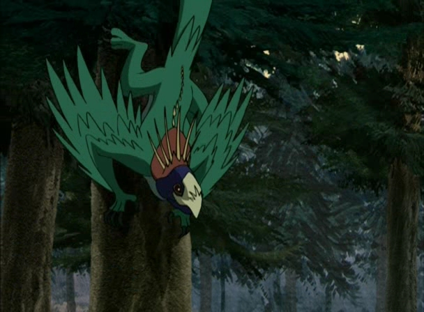 Птица на дереве