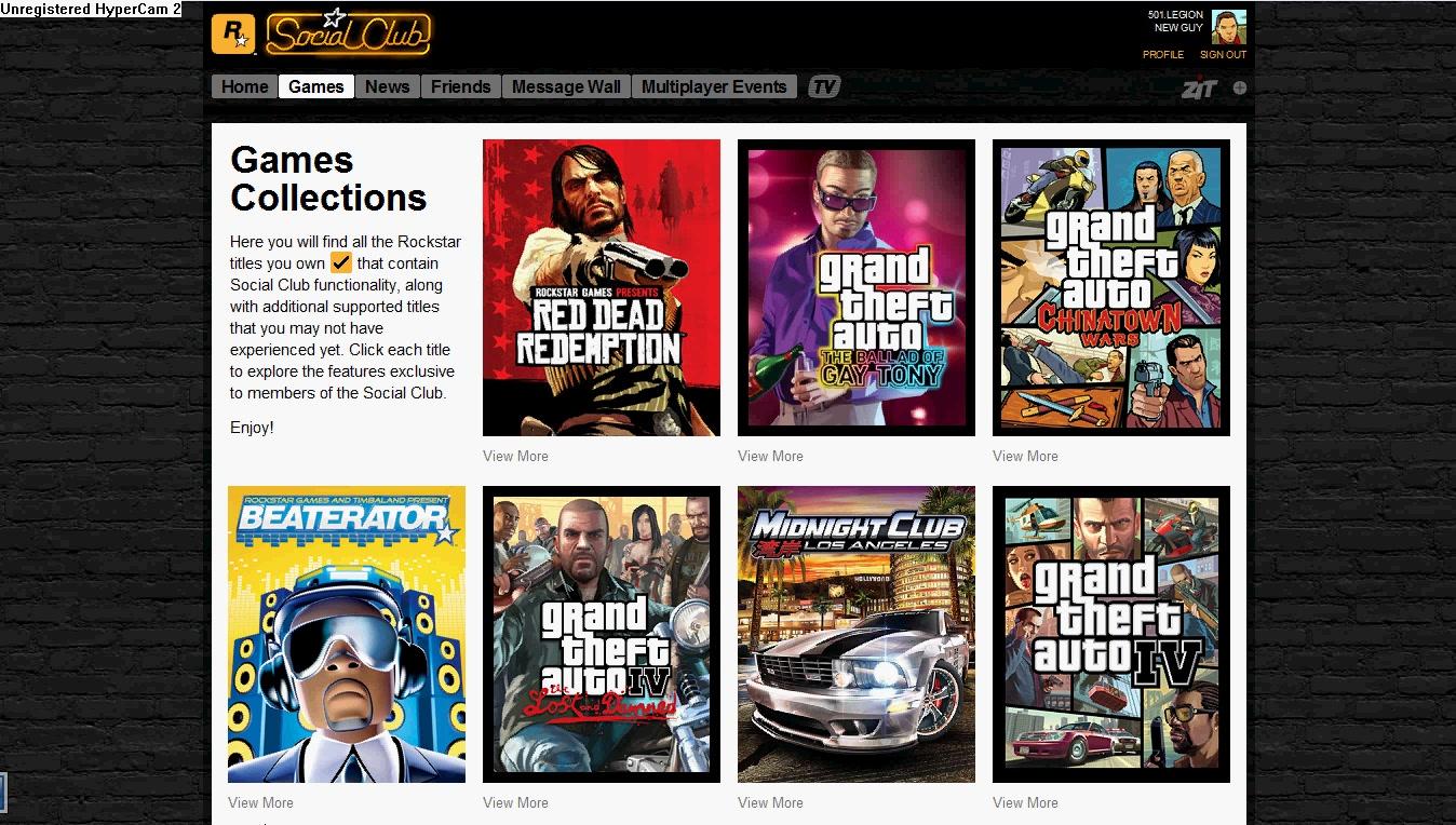 Rockstar Games Social Club - GTA Wiki