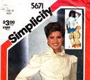 Simplicity 5671 A