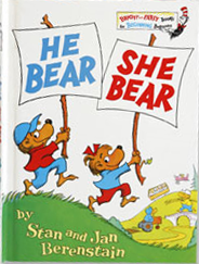 He Bear, She Bear (Bright & Early Books(R)), Berenstain, Stan; Berenstain, Jan