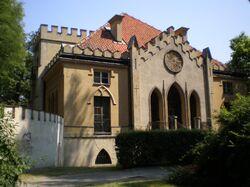 Pałac Szustra strona zachodnia