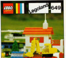 649 Low-Loader with Excavator