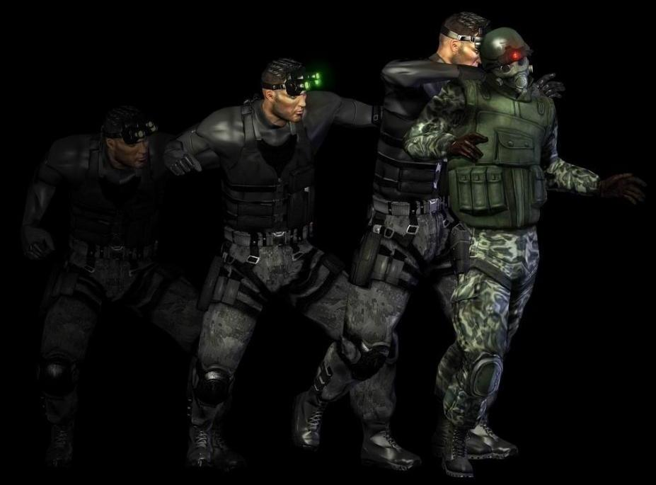 Sam Fisher The Splinter Cell Wiki