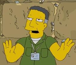 israel tour guide simpsons swearing