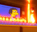 Flaming Homer