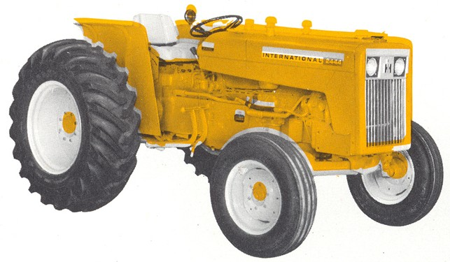 Ih 2424 Tractor Loader : International tractor construction plant wiki
