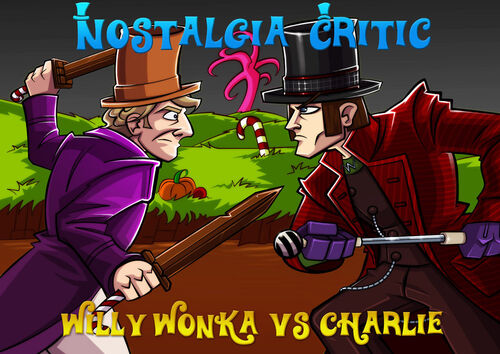 Old Vs New Willy Wonka Channel Awesome Wikia