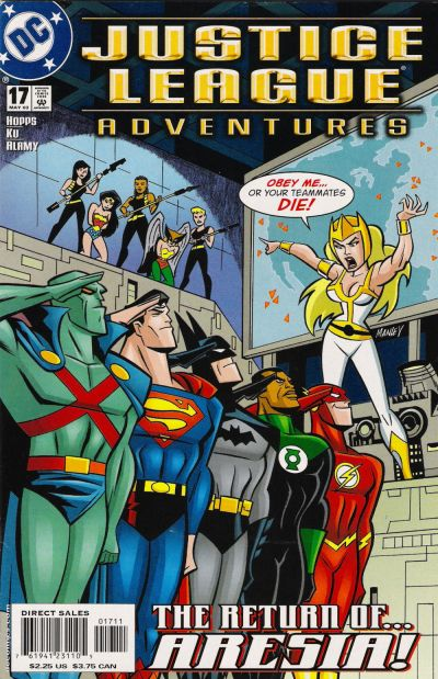 Justice League Adventures Vol 1 17 Dc Comics Database