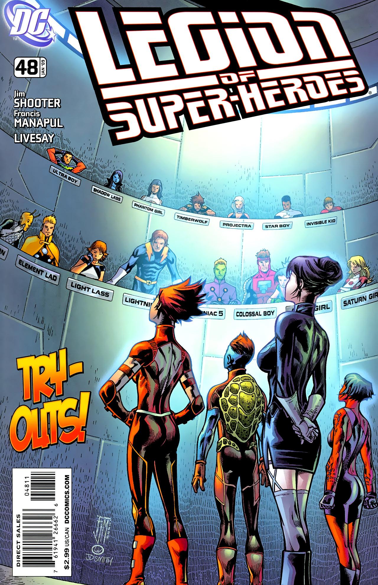 Legion Of Super Heroes Vol 5 48 Dc Comics Database