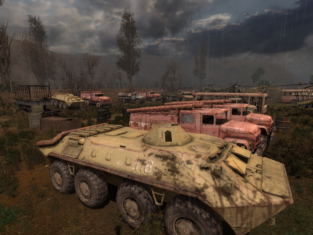 Vehicle graveyard - The S.T.A.L.K.E.R. Wiki - Shadow of Chernobyl ...