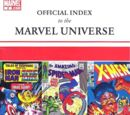 Official Index to the Marvel Universe Vol 1 2