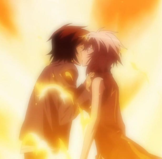 Homura s wingingSekirei Minato And Homura
