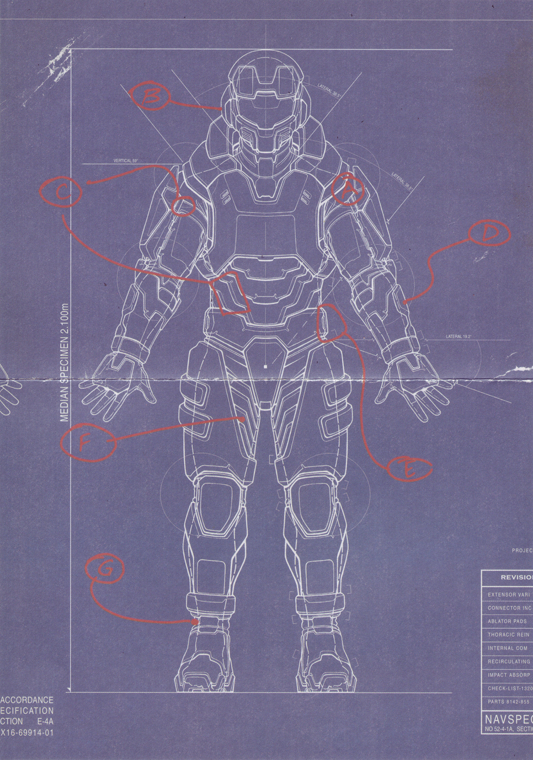 Halo 4 Master Chief Armor Blueprints