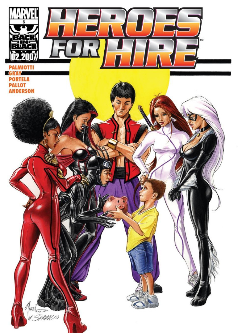 Book Cover Artist For Hire : Heroes for hire vol marvel comics database