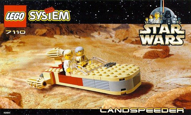 7110 landspeeder lego star wars wiki. Black Bedroom Furniture Sets. Home Design Ideas