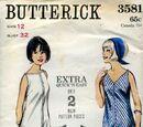 Butterick 3581