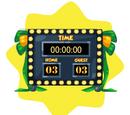 School Scoreboard Clock