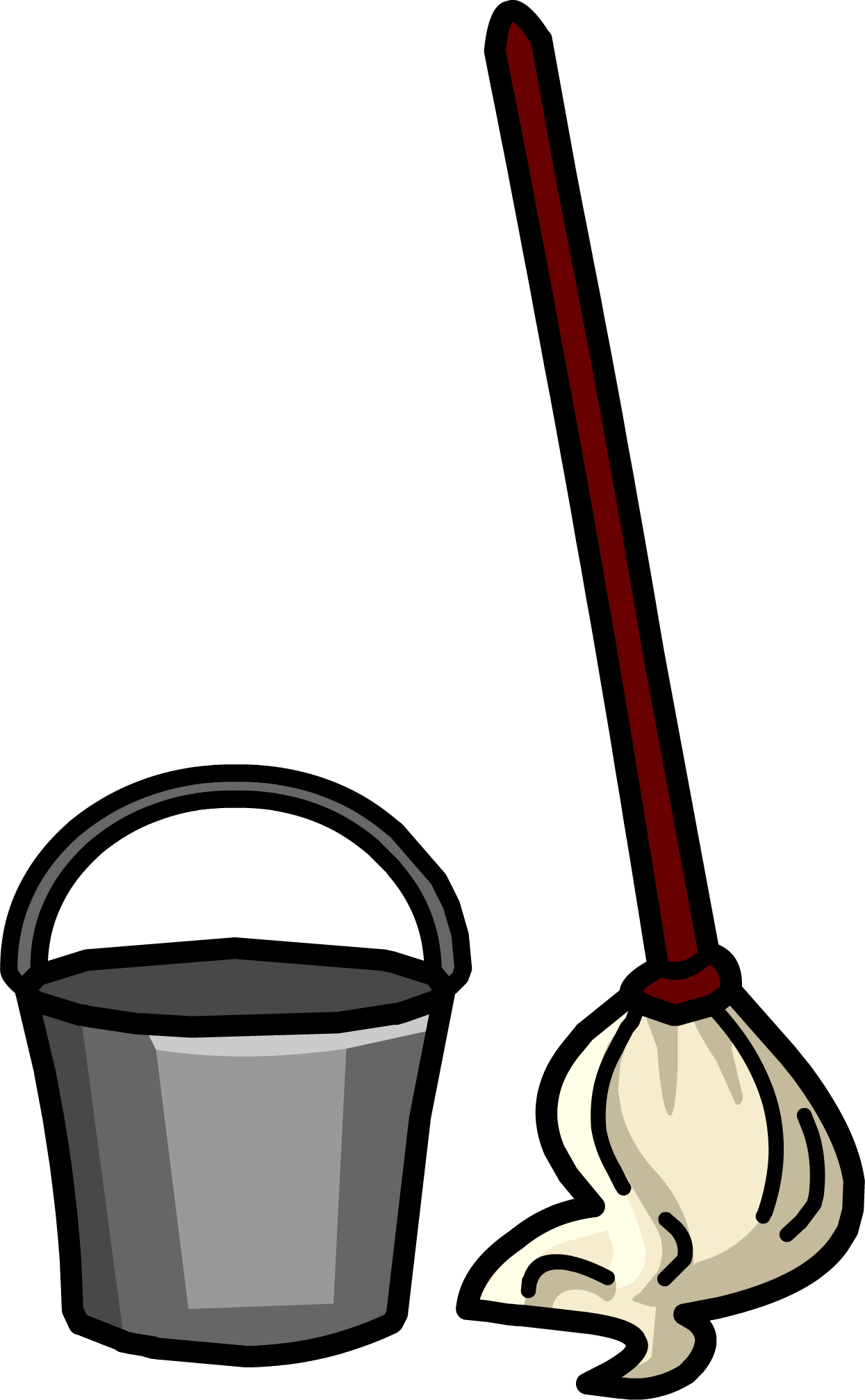 Mop amp; Bucket  Club Penguin Wiki  The free, editable encyclopedia