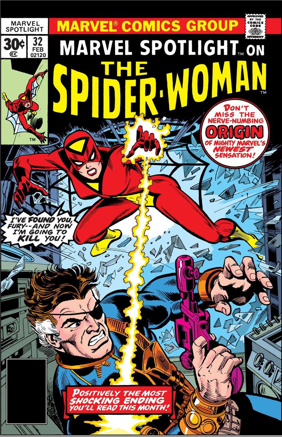 32 Best Images About Cgh On Pinterest: Marvel Spotlight Vol 1 32