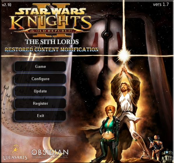 ГеноХарадан. Star Wars: Knights of the Old Republic II: The Sith Lords. M