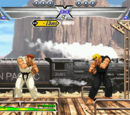 Train Stage (Capcom vs. SNK: Millennium Fight 2000)