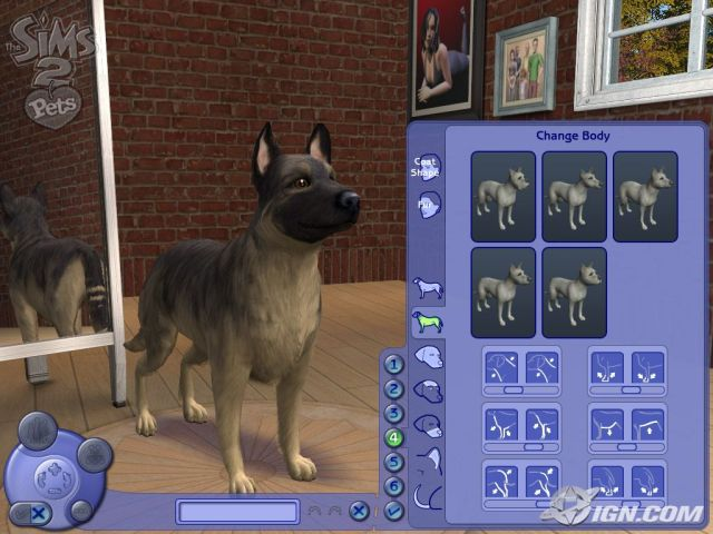 Sims  Pets Pc Dog Skills