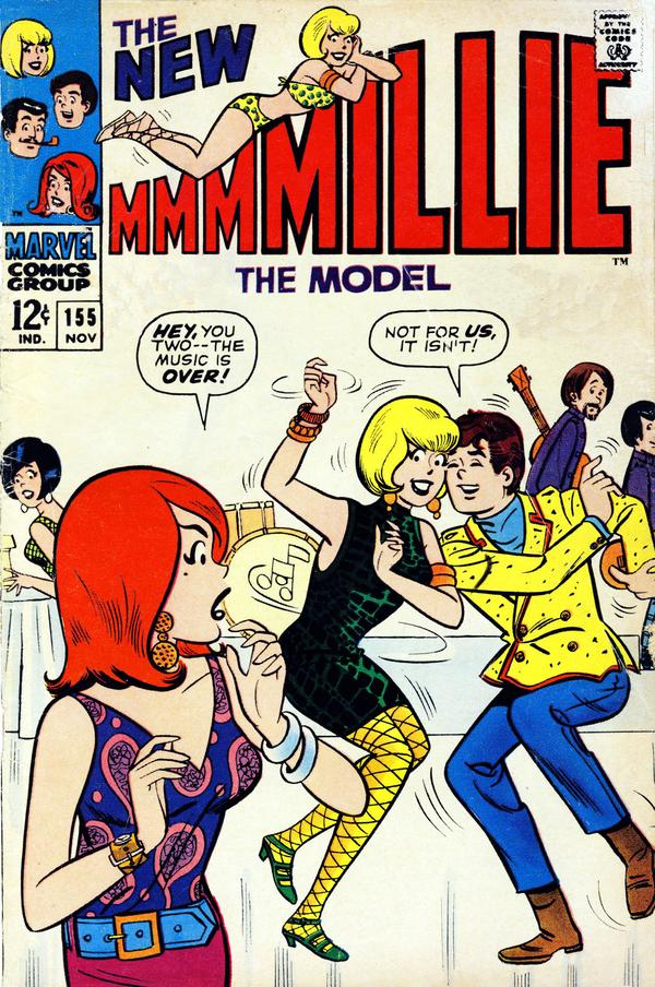 Millie the model vol 1 155 marvel comics database