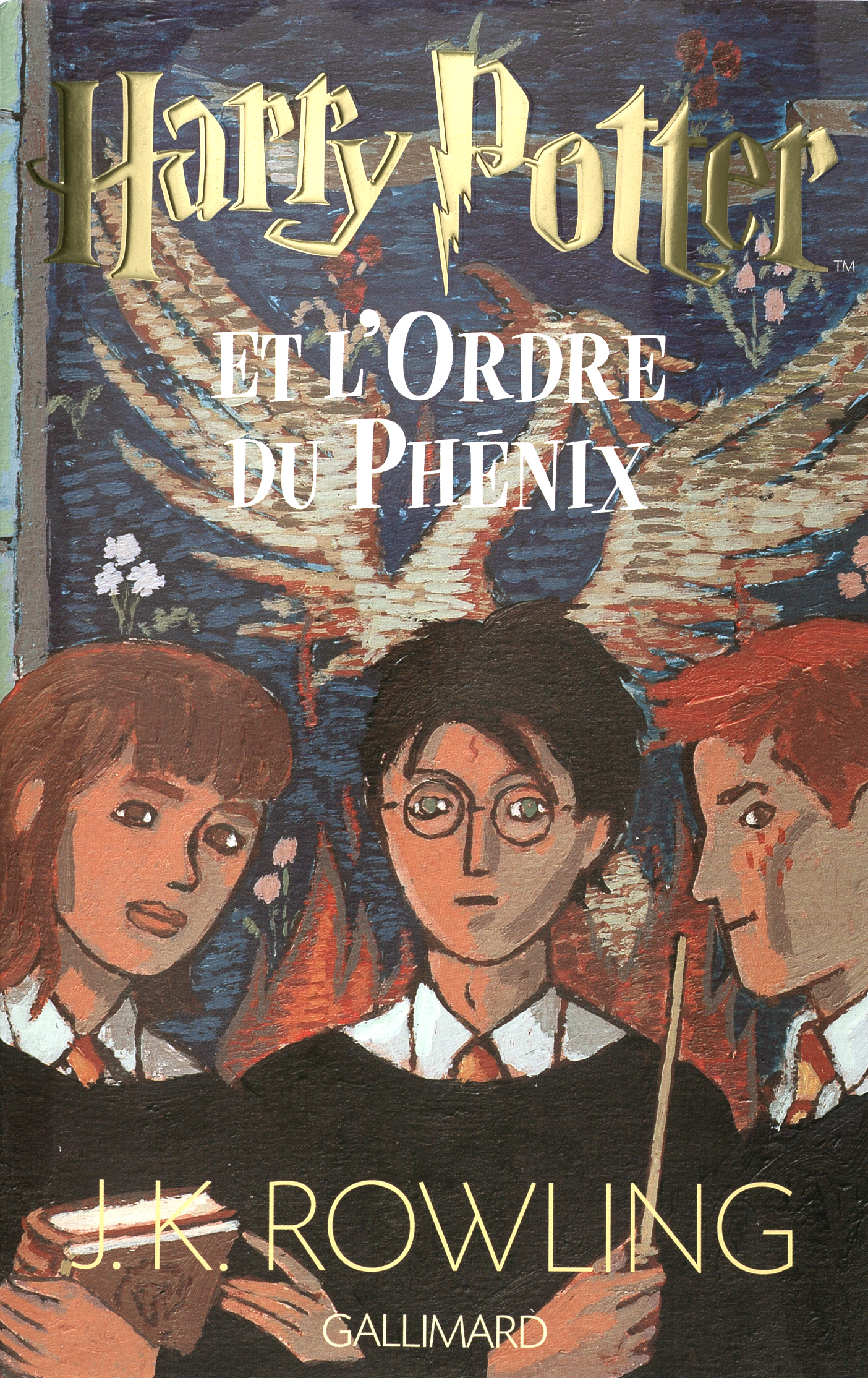 Harry Potter Book Five : Image french book cover g harry potter wiki wikia