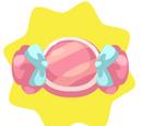 Pink Candy Pillow