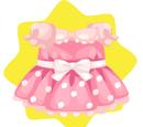 Sweet Pink Polka Dot Dress