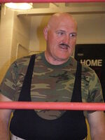 Sgt. Slaughter in April 09