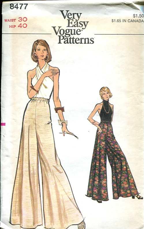 vogue 8477 vintage sewing patterns