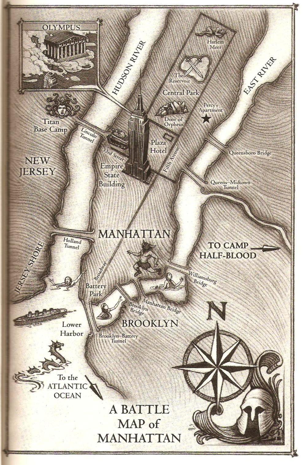 Manhattan Riordan Wiki Wikia