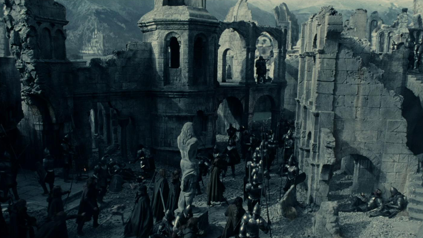 Lord Of The Rings Battle For Minas Tirth