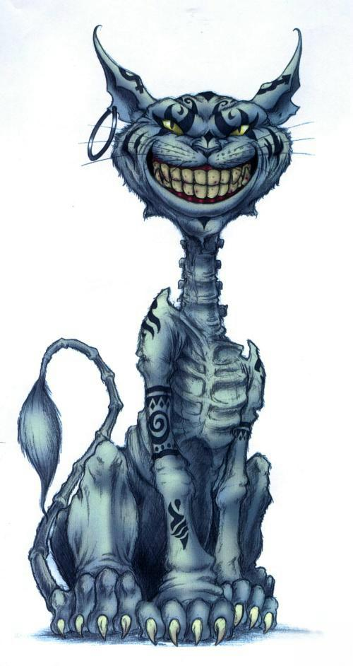 alice video game cheshire cat