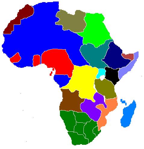 Africa Map No Names | Stillwonder