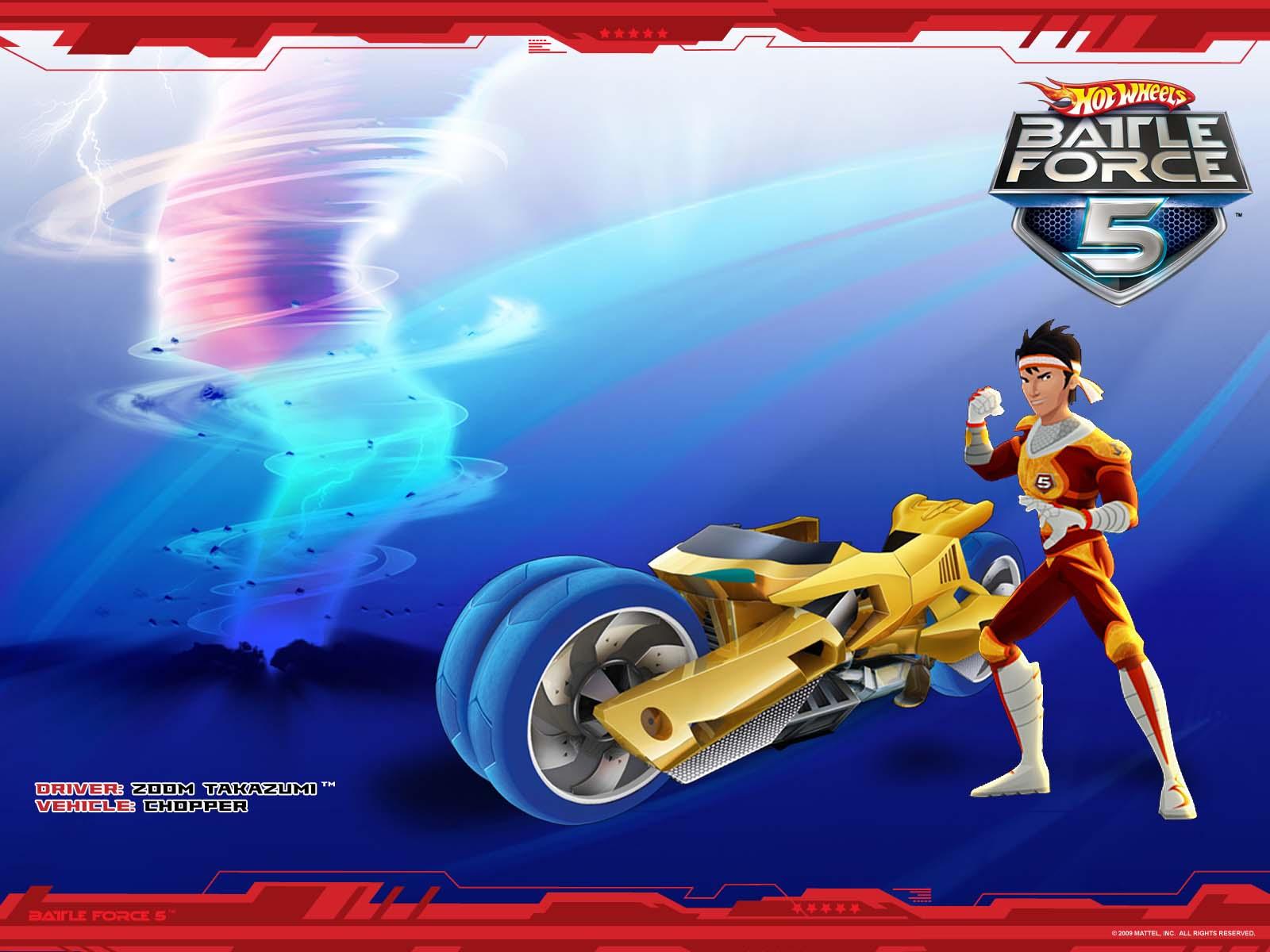zoom takazumi hot wheels battle force 5 wiki