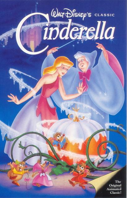 Disney Cinderella VHS