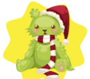 Grinch Bear Plushie