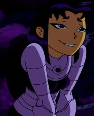 Would like Teen titans starfire black fire apologise