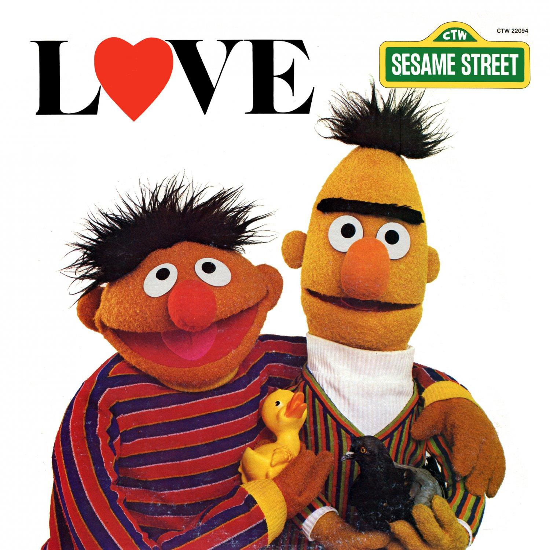 Bert & Ernie 4ever?