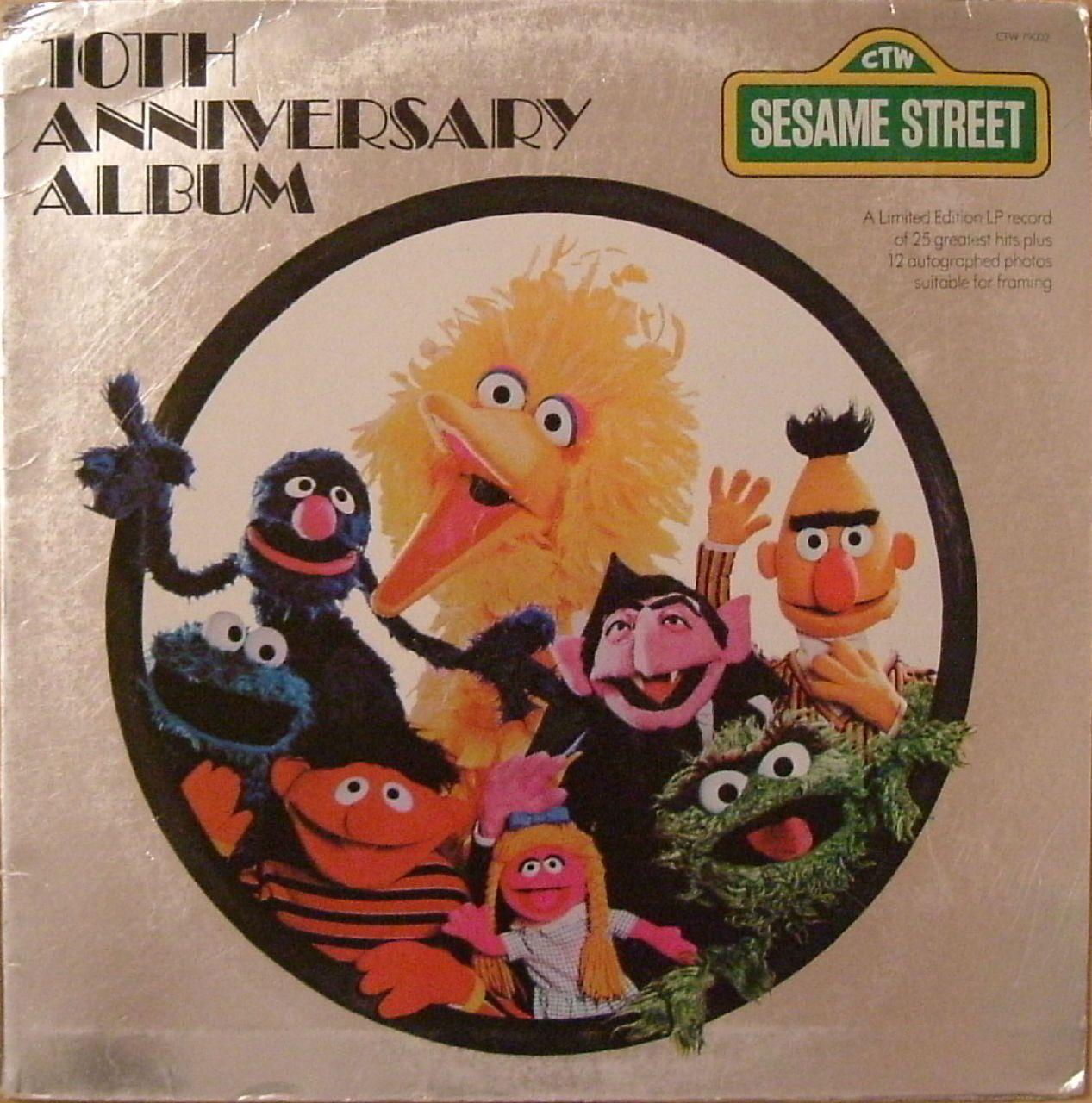 Sesame Street Music Archive: 10th Anniversary Album