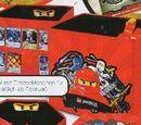 Ninjago Storage Box with Card Pockets