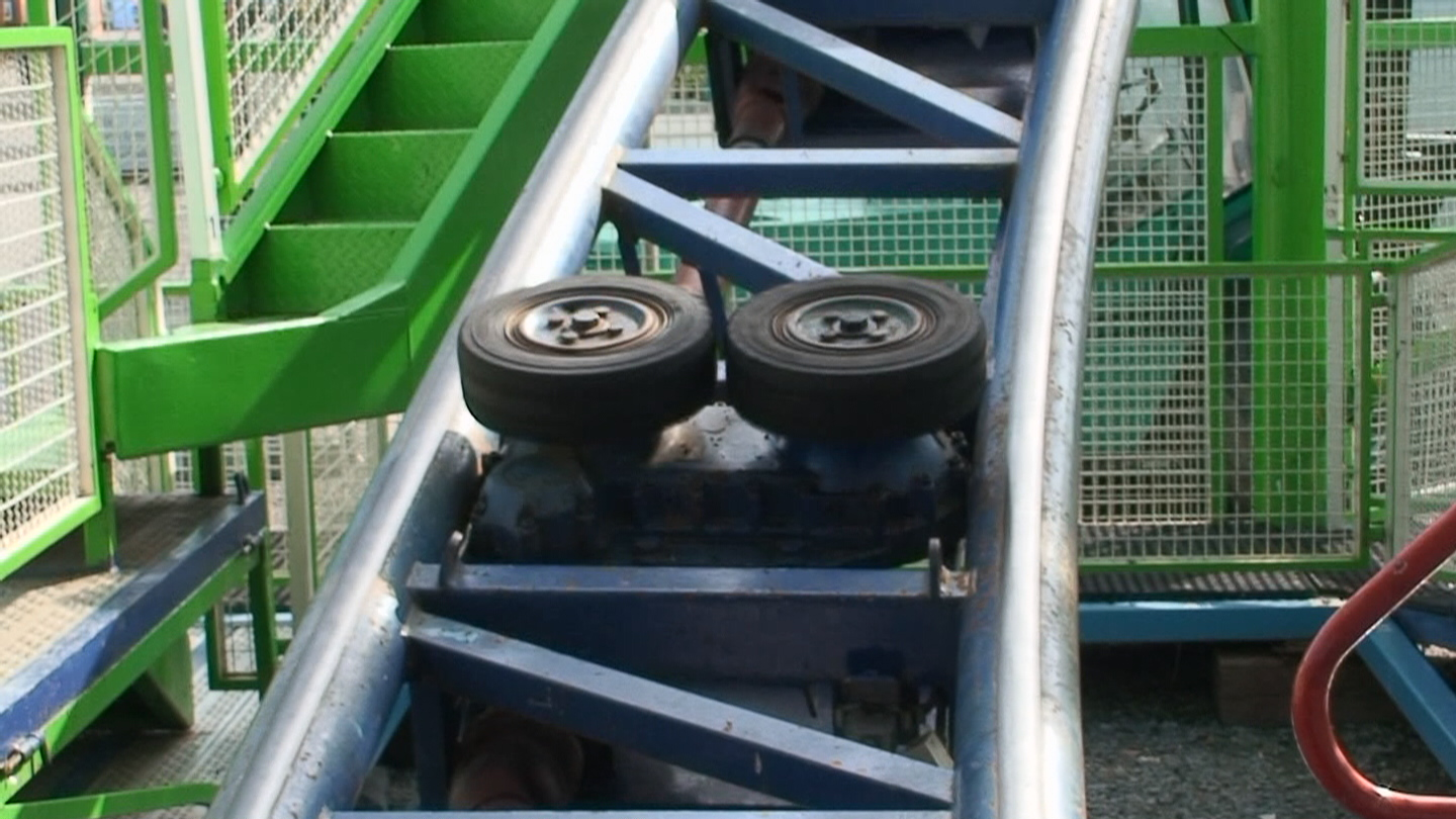 Friction Wheels Coasterpedia The Roller Coaster Wiki
