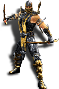 Mortal kombat scorpion spear