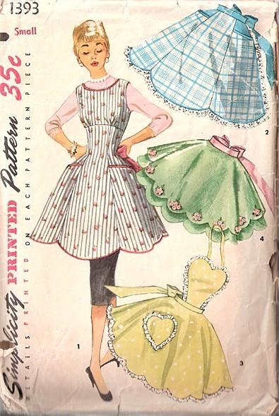 Simplicity 1393 Vintage Sewing Patterns