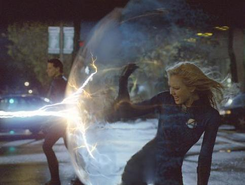 The invisible woman powers
