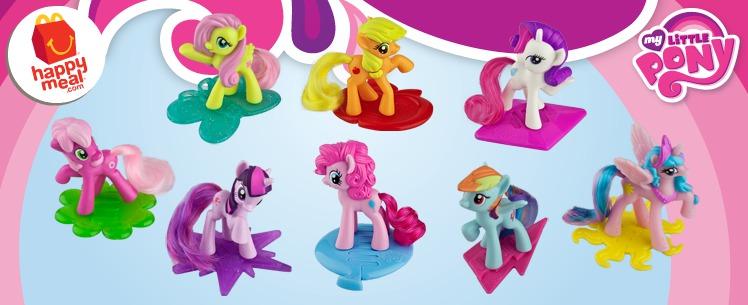 Mcdonalds Happy Meal Toys 2014 My Little Pony McDonald s