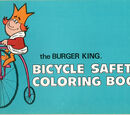 Burger King Bicycle Safety Coloring Book, The (Burger King, 1972)